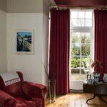 Handmade 'Wave' Curtains, Reydon, Southwold