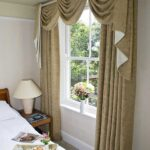 Traditional handmade Swags and Tails curtains, Halesworth