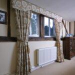 Handmade curtains using customer supplied fabric, Woodbridge